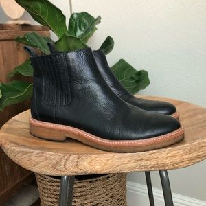 Botkier Chelsea Faux Shearling lined boots 9/9.5